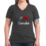 I Love Gambia Shirt