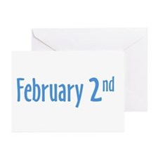 February 2nd Greeting Cards (Pk of 10)