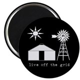 "Off-Grid 2.25"" Magnet (10 pack)"