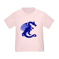 Blue Dragon Toddler Tee