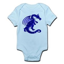 Blue Dragon Infant Creeper