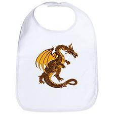 Gold Dragon Bib