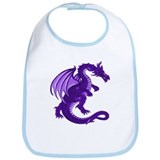 Purple Dragon Bib