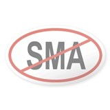 SMA Oval Decal