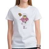 Football Bear Purple T-Shirt