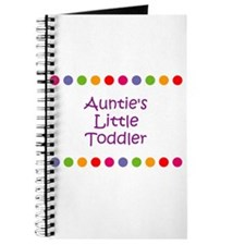 Auntie's Little Toddler Journal