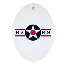 Hahn Air Base Oval Ornament