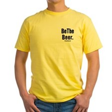 Yellow 'Be The Beer' T-Shirt