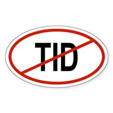 TID Oval Decal