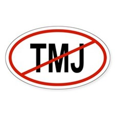 TMJ Oval Decal