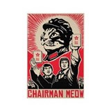 Follow Chairman Meow! Magnets (10 pack)