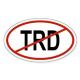 TRD Oval Decal