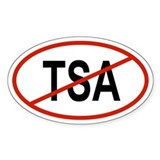 TSA Oval Decal