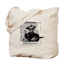 Old West Skull and revolvers Tote Bag