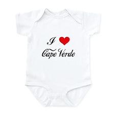 I Love Cape Verde Infant Bodysuit
