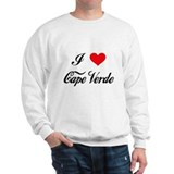I Love Cape Verde Sweatshirt