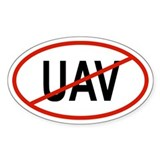 UAV Oval Decal