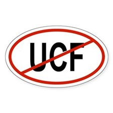 UCF Oval Decal