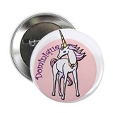 "Dominique Unicorn 2.25"" Button"