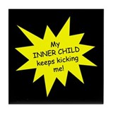 Inner Child Tile Coaster