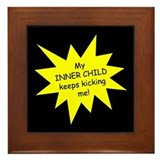 Inner Child Framed Tile