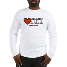 Ablation Slows Beating HeartT Long Sleeve T-Shirt