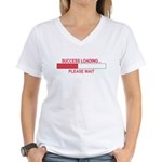 SUCCESS LOADING... Women's V-Neck T-Shirt