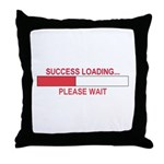 SUCCESS LOADING... Throw Pillow