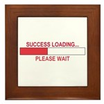 SUCCESS LOADING... Framed Tile