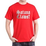 Satana Claws! Dark T-Shirt