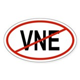 VNE Oval Decal