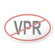 VPR Oval Decal