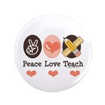 Peace Love Teach Teacher 3.5