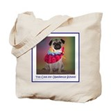 Too Cool for Obedience School Tote Bag