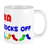 Anika Rocks Socks (A) Small Mugs