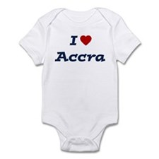 I HEART ACCRA Infant Bodysuit