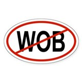 WOB Oval Decal