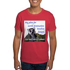 Domination Lemurs T-Shirt