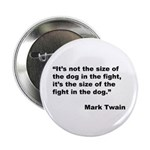 Mark Twain Dog Size Quote 2.25