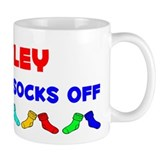 Ansley Rocks Socks (A) Small Mug
