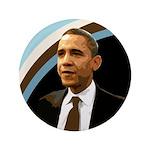 Huge Barack Obama Campaign Button