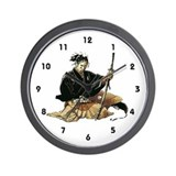 Samurai Wall Clock