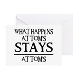 STAY'S AT TOM'S Greeting Cards (Pk of 20)