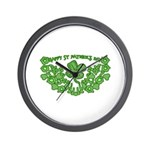 HAPPY ST PATS DAY GRAPHIC Wall Clock