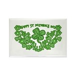 HAPPY ST PATS DAY GRAPHIC Rectangle Magnet