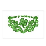 HAPPY ST PATS DAY GRAPHIC Postcards (Package of 8)