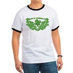 HAPPY ST PATS DAY GRAPHIC Ringer T