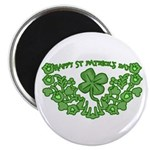 HAPPY ST PATS DAY GRAPHIC Magnet