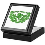HAPPY ST PATS DAY GRAPHIC Keepsake Box