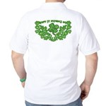 HAPPY ST PATS DAY GRAPHIC Golf Shirt